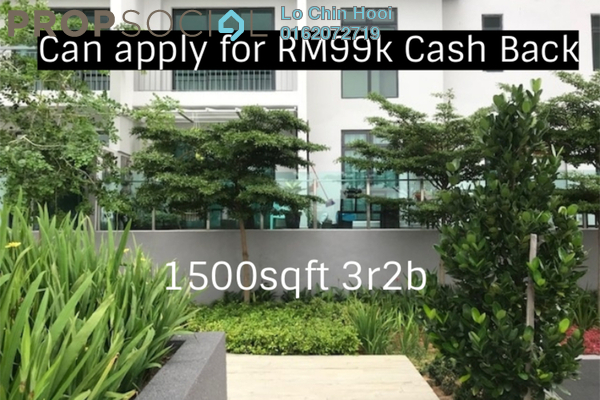 For Sale Condominium at Parkhill Residence, Bukit Jalil Freehold Unfurnished 3R/2B 572k