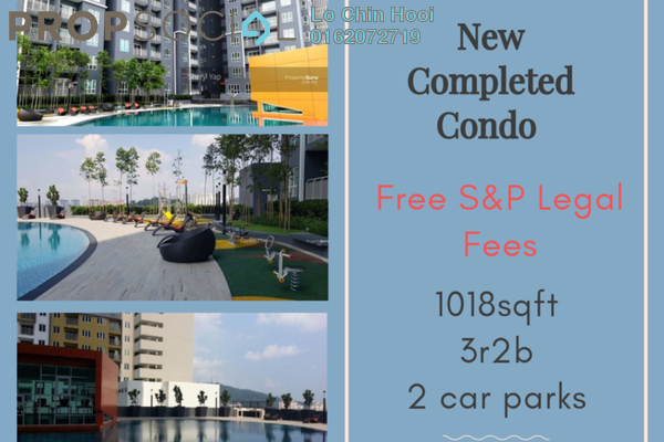 For Sale Condominium at Suasana Lumayan, Bandar Sri Permaisuri Freehold Unfurnished 3R/2B 450k