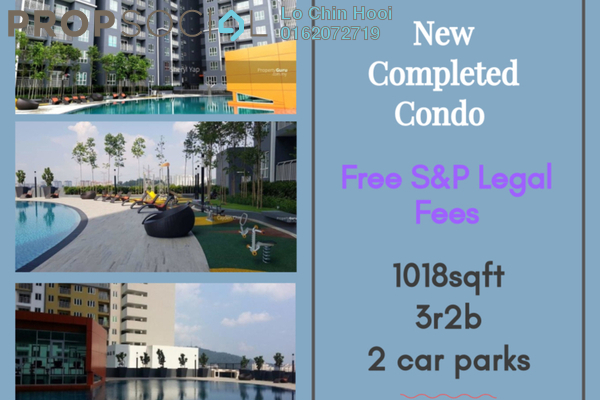 For Sale Condominium at Prima Midah Heights, Cheras Leasehold Unfurnished 3R/2B 450k