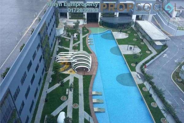 For Rent Condominium at Skypod, Bandar Puchong Jaya Freehold Fully Furnished 1R/1B 1.6k