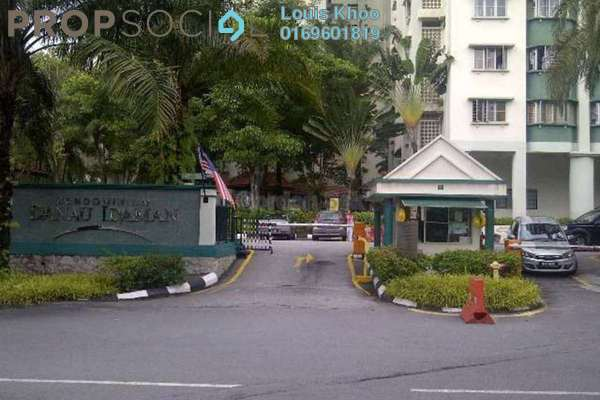 For Sale Condominium at Danau Idaman, Taman Desa Freehold Unfurnished 3R/2B 395k