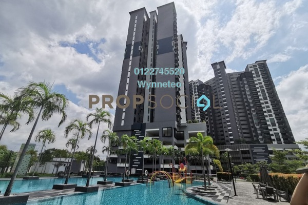 For Sale Condominium at The Vyne, Sungai Besi Freehold Semi Furnished 3R/2B 560k