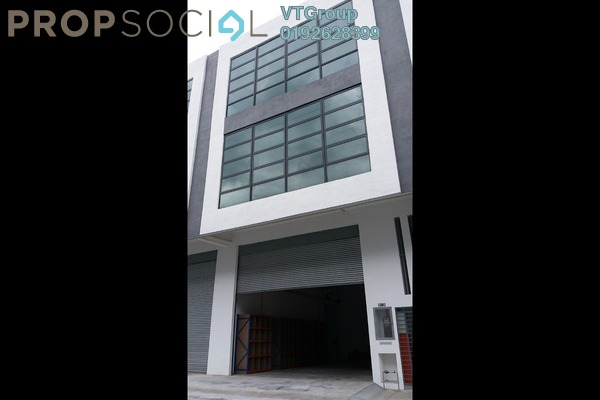 For Rent Factory at Desa Aman Puri, Kepong Freehold Unfurnished 1R/6B 10k