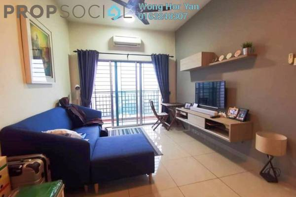 For Sale Serviced Residence at OUG Parklane, Old Klang Road Freehold Semi Furnished 3R/2B 373k