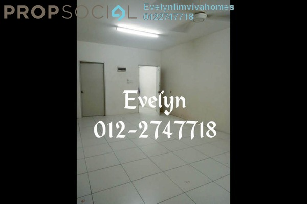 For Sale Apartment at Lakeview Apartment, Batu Caves Freehold Unfurnished 3R/2B 250k