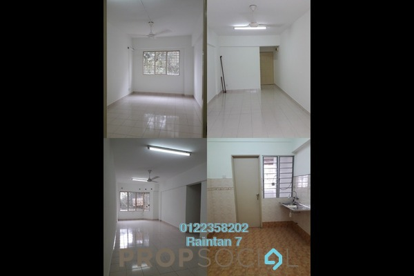 For Rent Condominium at Petaling Indah, Sungai Besi Freehold Unfurnished 3R/2B 1.05k