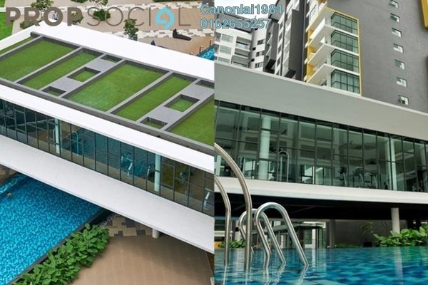 For Rent Condominium at Zeva, Bandar Putra Permai Freehold Semi Furnished 3R/2B 1.35k