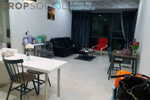 For Sale Condominium at Vogue Suites One @ KL Eco City, Mid Valley City Freehold Fully Furnished 2R/2B 1.26m