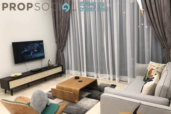 For Sale Condominium at Vogue Suites One @ KL Eco City, Mid Valley City Freehold Fully Furnished 1R/1B 1.05m