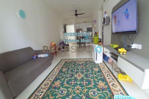 For Sale Condominium at Seasons Garden Residences, Wangsa Maju Freehold Semi Furnished 3R/2B 500k