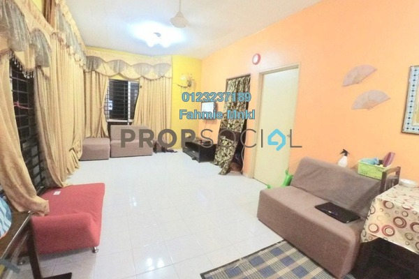 For Sale Apartment at Merak Apartment, Bandar Kinrara Freehold Unfurnished 3R/2B 300k