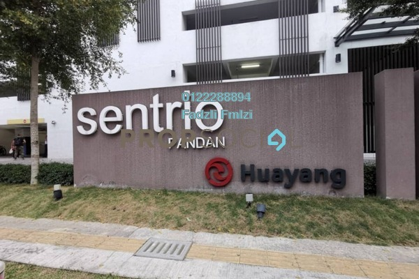 For Sale Serviced Residence at Sentrio Suites, Desa Pandan Leasehold Semi Furnished 2R/2B 600k