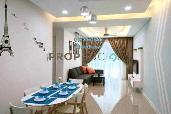 For Rent Condominium at DeSkye Residence, Jalan Ipoh Freehold Unfurnished 3R/2B 1.2k