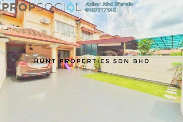 For Sale Terrace at Bandar Saujana Utama, Sungai Buloh Freehold Semi Furnished 4R/3B 440k