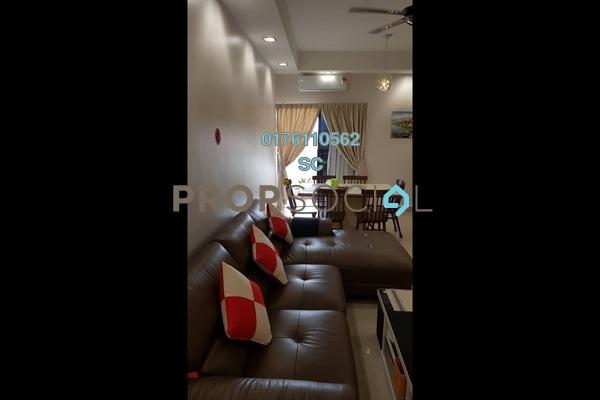 For Sale Condominium at Pelangi Utama, Bandar Utama Leasehold Semi Furnished 3R/2B 650k