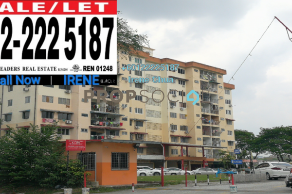 For Sale Condominium at Happy Mansion, Petaling Jaya Freehold Unfurnished 3R/2B 499Ribu