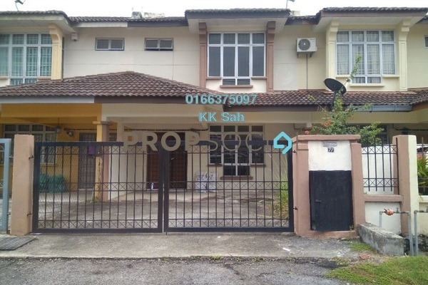 For Sale Link at Section 5, Bandar Mahkota Cheras Freehold Semi Furnished 4R/3B 460k