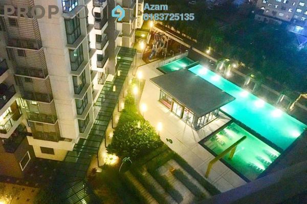For Sale Condominium at Boulevard Residence, Bandar Utama Freehold Semi Furnished 3R/2B 650k