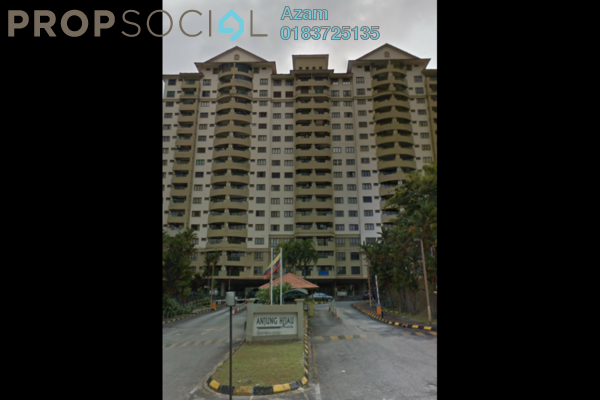 For Sale Condominium at Anjung Hijau, Bukit Jalil Freehold Semi Furnished 2R/2B 410k
