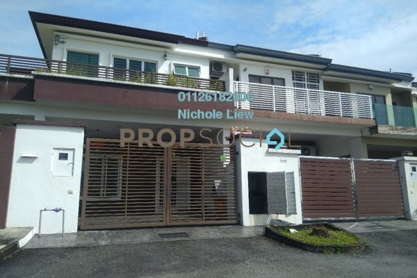 For Sale Superlink at Taman Damai Impian 2, Bandar Damai Perdana Freehold Semi Furnished 5R/4B 1.27m