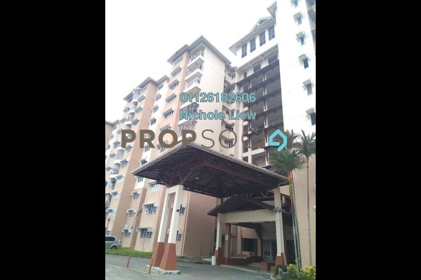 For Sale Apartment at Taman Sri Bahagia, Cheras South Freehold Fully Furnished 3R/2B 295k