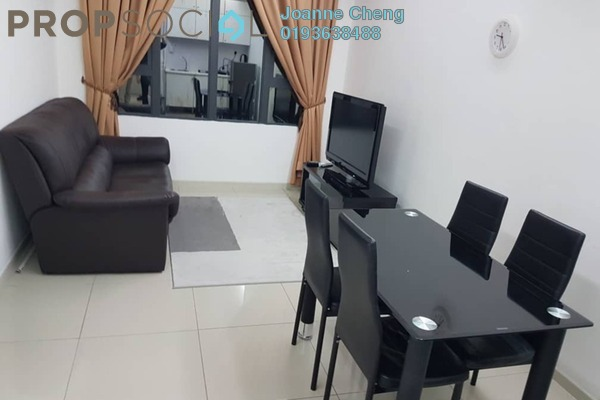 For Rent Condominium at Centrestage, Petaling Jaya Freehold Fully Furnished 2R/2B 1.8k