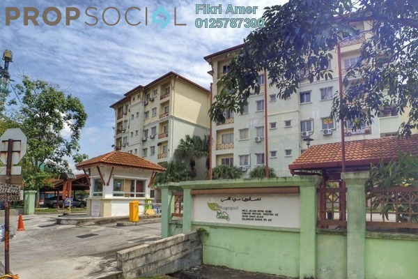 For Sale Apartment at Seri Galaksi Apartment, Subang Leasehold Unfurnished 3R/2B 325k