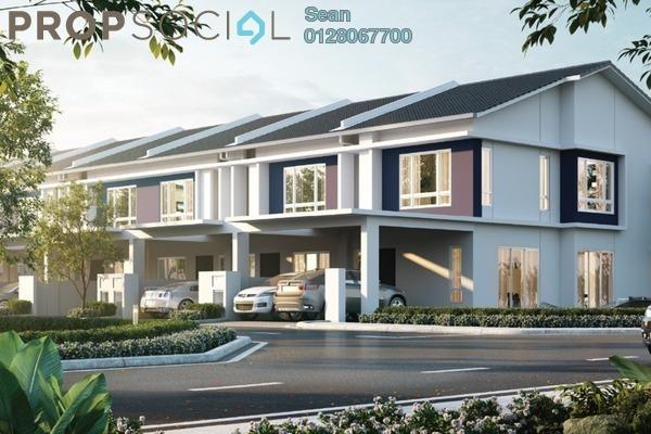 For Sale Terrace at Dextora, Bandar Sri Sendayan Freehold Unfurnished 4R/3B 538k