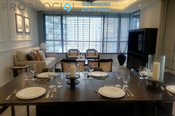 For Sale Serviced Residence at The Ruma, KLCC Freehold Semi Furnished 2R/2B 1.98m