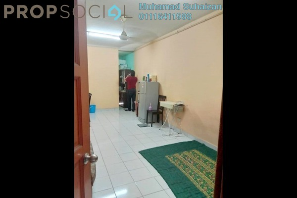 For Sale Apartment at Taman Keramat, Setiawangsa Leasehold Semi Furnished 3R/2B 270k