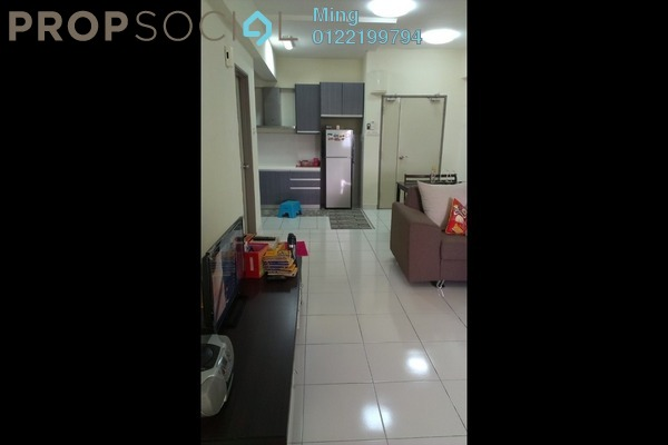 For Sale Condominium at Radius Residence, Selayang Heights Freehold Semi Furnished 3R/2B 340k