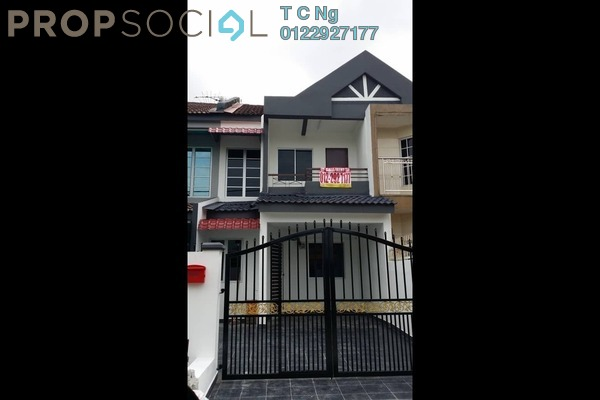 For Sale Terrace at Taman Puchong Intan, Puchong Freehold Unfurnished 3R/2B 430k