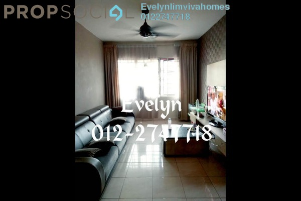 For Sale Apartment at SD Apartment II, Bandar Sri Damansara Freehold Semi Furnished 3R/2B 250k