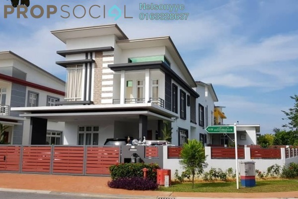 For Sale Bungalow at CasaIdaman, Setia Alam Freehold Semi Furnished 6R/6B 2.39m