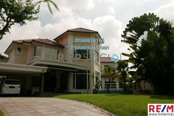 For Sale Bungalow at Bukit Gita Bayu, Seri Kembangan Freehold Semi Furnished 8R/7B 5.9m