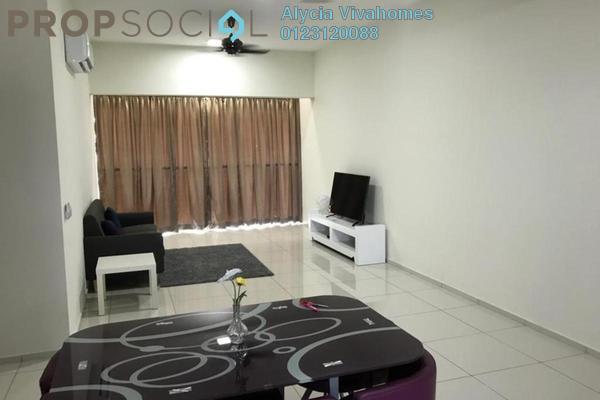 For Rent Condominium at Elevia Residences, Bandar Puchong Utama Freehold Fully Furnished 4R/2B 2k