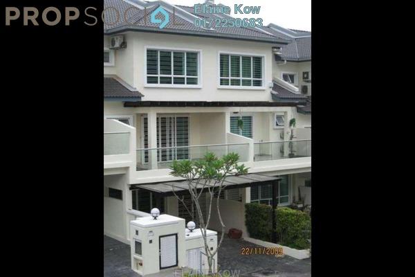 For Rent Terrace at Impian Villa, Mont Kiara Freehold Semi Furnished 6R/5B 5k