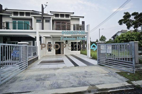 For Sale Terrace at Taman Nusari Aman, Bandar Sri Sendayan Freehold Semi Furnished 4R/3B 530k