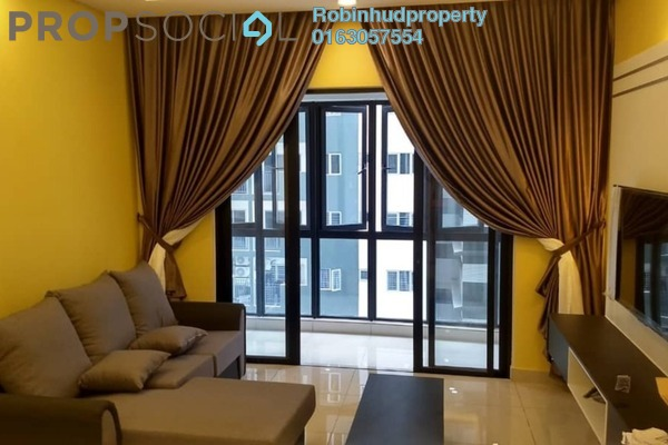 For Rent Condominium at The Haute, Keramat Freehold Fully Furnished 3R/2B 2.3k