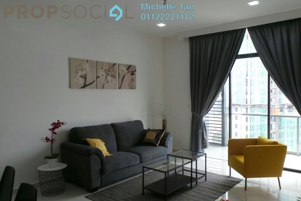 For Rent Condominium at Mirage Residence, KLCC Freehold Fully Furnished 2R/2B 3.6k