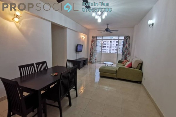 For Rent Condominium at D'Piazza Condominium, Bayan Baru Freehold Fully Furnished 3R/2B 1.5k