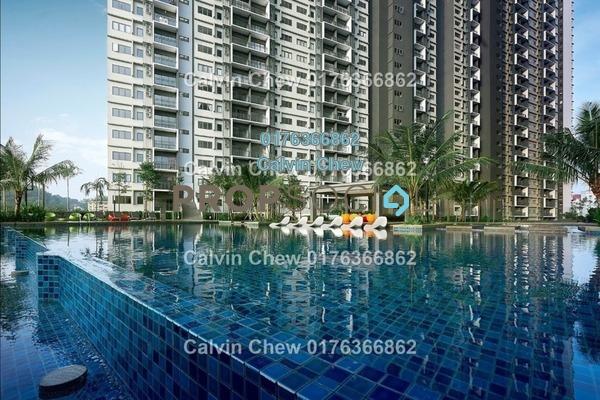 For Sale Serviced Residence at Seasons Garden Residences, Wangsa Maju Freehold Unfurnished 2R/2B 343k