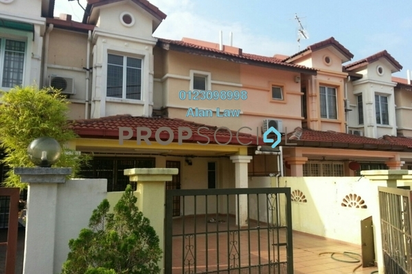 For Sale Terrace at PP 3, Taman Putra Prima Freehold Semi Furnished 4R/3B 600k