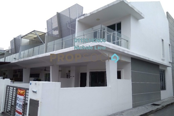 For Sale Link at Taman Cheras Idaman, Bandar Sungai Long Leasehold Semi Furnished 4R/3B 788k