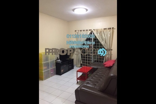 For Sale Condominium at Taman Minang, Cheras South Freehold Semi Furnished 3R/2B 318k