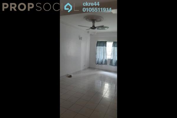 For Rent Apartment at Cemara Apartment, Bandar Sri Permaisuri Freehold Semi Furnished 3R/2B 1.15k