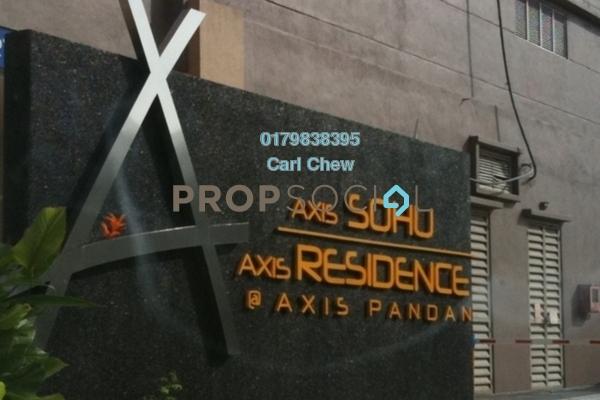 For Sale Condominium at Axis SoHu, Pandan Indah Freehold Semi Furnished 1R/1B 330k