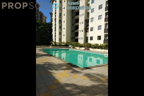 For Sale Condominium at Villa Pawana, Keramat Freehold Semi Furnished 4R/3B 650k
