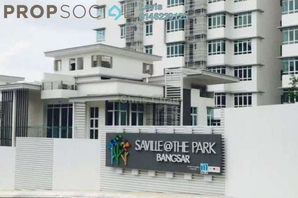 For Rent Condominium at Saville @ The Park, Pantai Freehold Semi Furnished 3R/2B 1.9k
