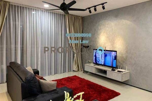For Rent Condominium at The Fennel, Sentul Freehold Fully Furnished 3R/2B 3.5k